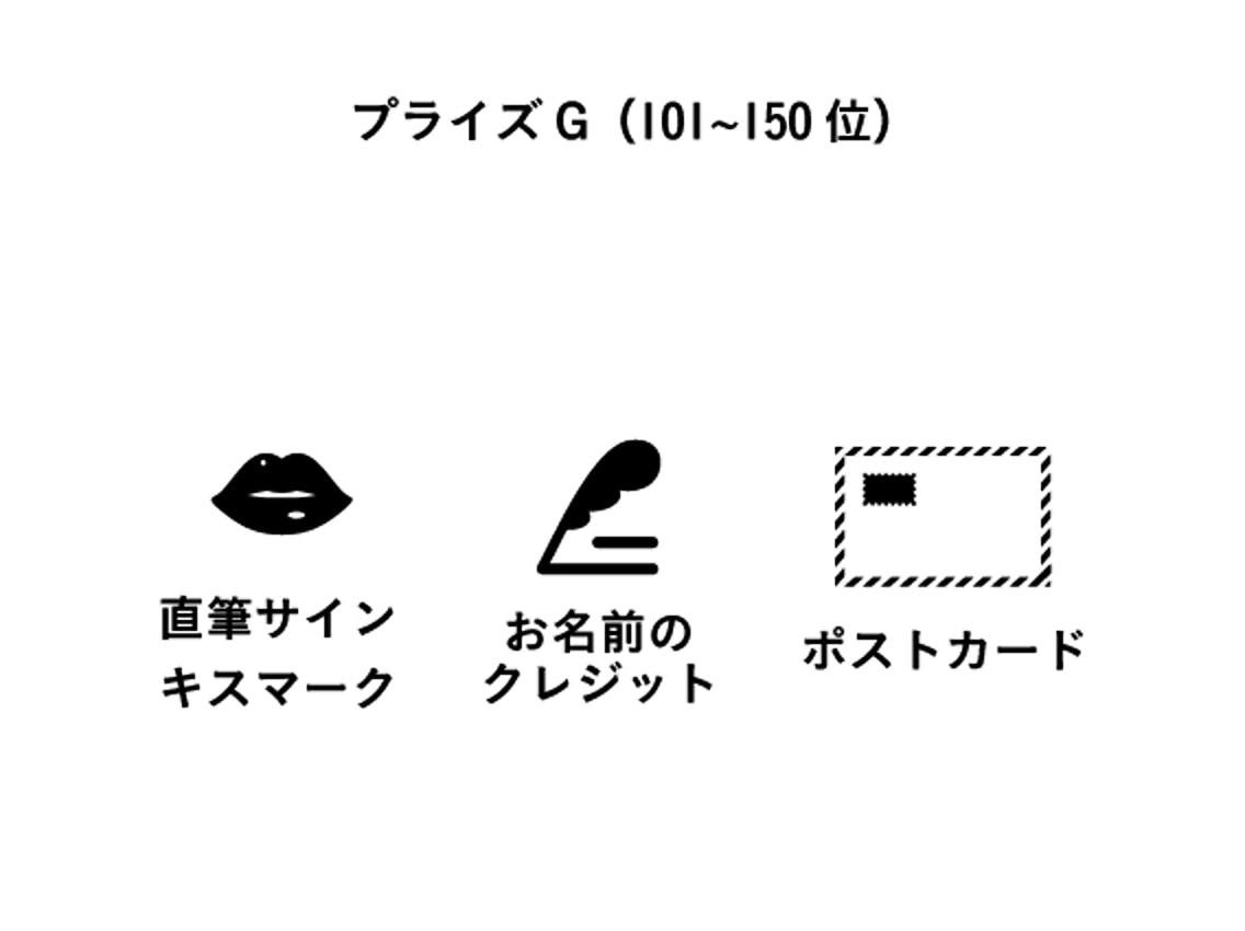 プライズG(101〜150位)