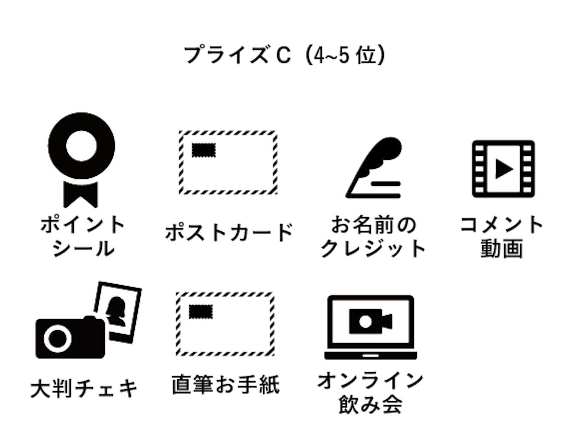 プライズC(4~5位)