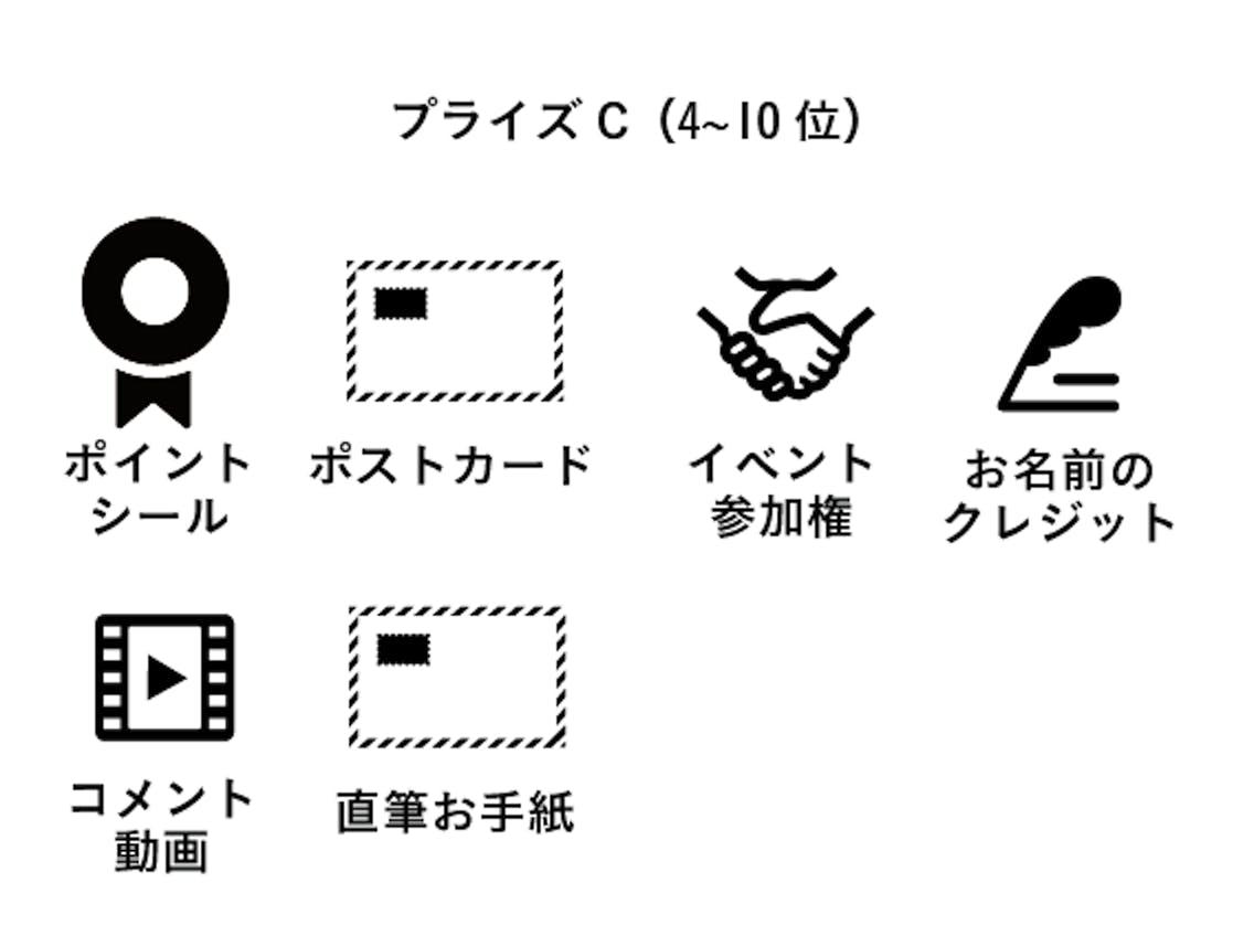 プライズC(4〜10位)