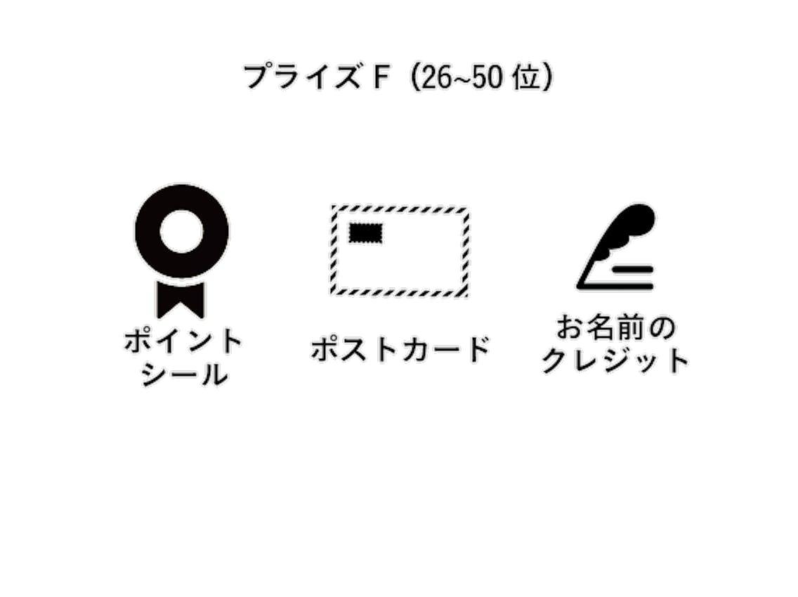 プライズF(26~50位)