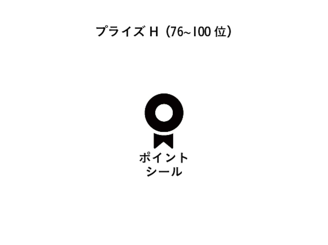 プライズH(76〜100位)