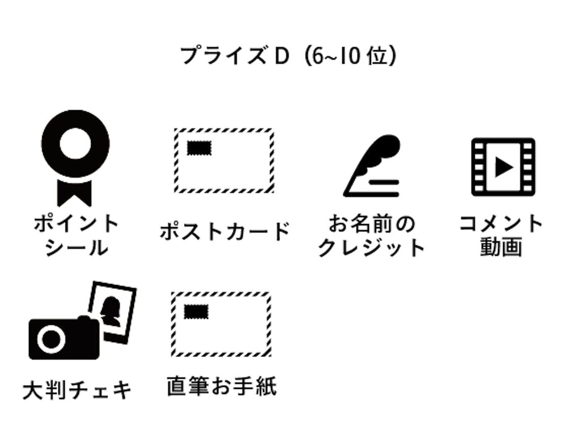 プライズD(6~10位)